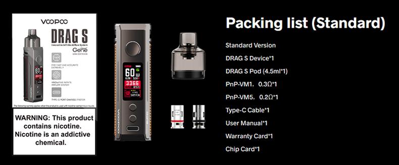 DRAG S Pod Mod Kit Package