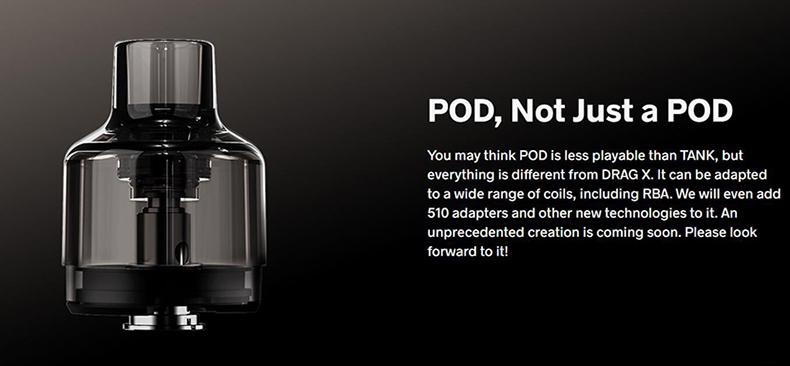 VOOPOO Drag X 80W Kit Pod