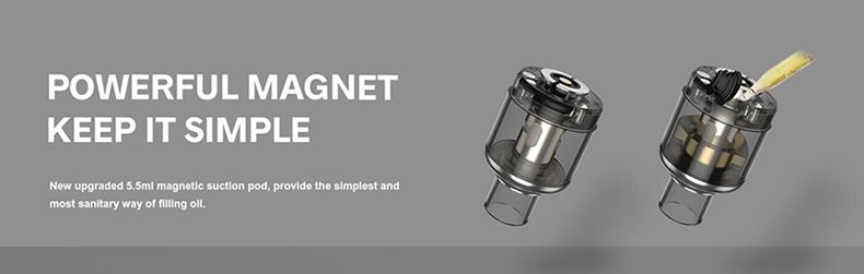 VOOPOO Drag X Plus Kit Magnet Design