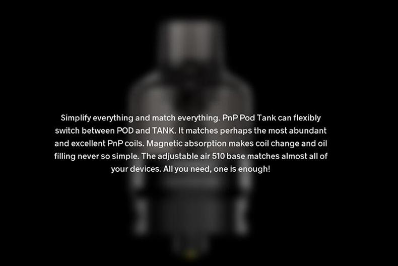 PnP Pod Tank