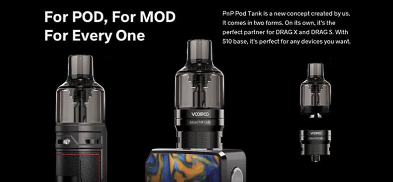 VOOPOO PnP Tank for Pod N Mod