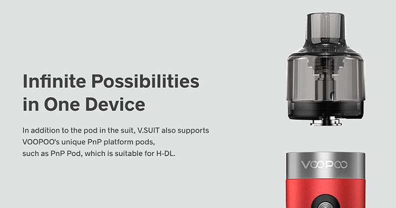 VOOPOO V.SUIT Pod Kit Compatible pods
