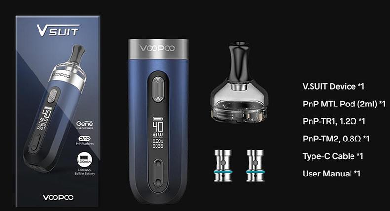 V.SUIT Pod Kit Package