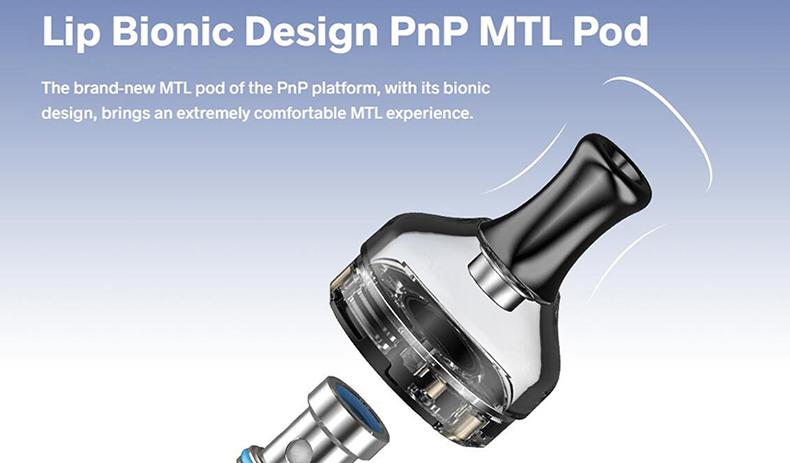 VOOPOO V.SUIT Pod Kit PnP MTL Pod Cartridge