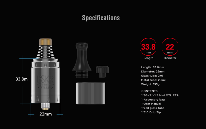 Vandy Vape Berserker V1.5 Mini MTL RTA Feature4