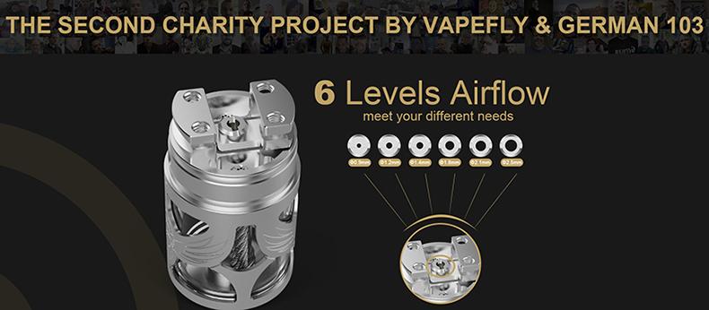 Vapefly Brunhilde MTL RTA Airflow