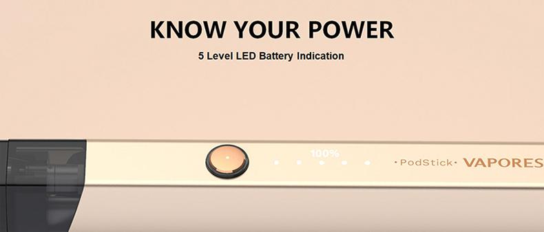 Vaporesso PodStick Kit Battery Power