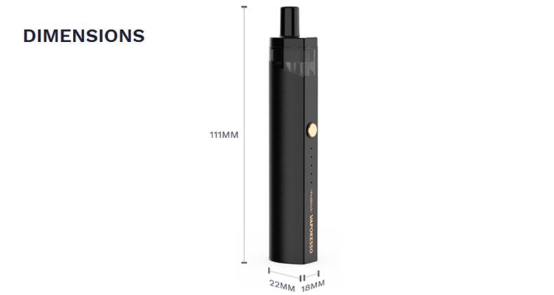 Vaporesso PodStick Kit Size