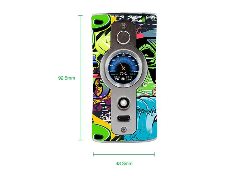 VK530 Box Mod Size