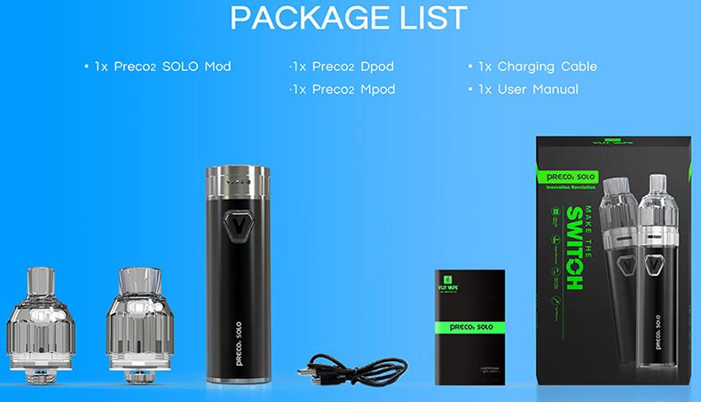 Vzone Preco 2 Solo Kit Package
