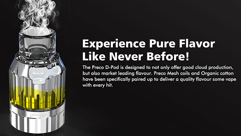 Preco 2 DTL Vape Tank Pure Flavor