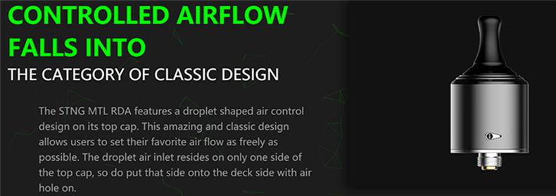 Stng MTL RDA Airflow