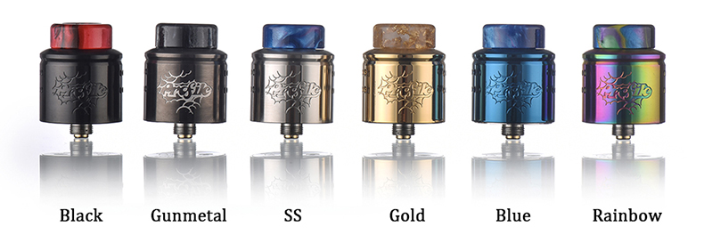 Profile 1.5 RDA Atomizer Colors