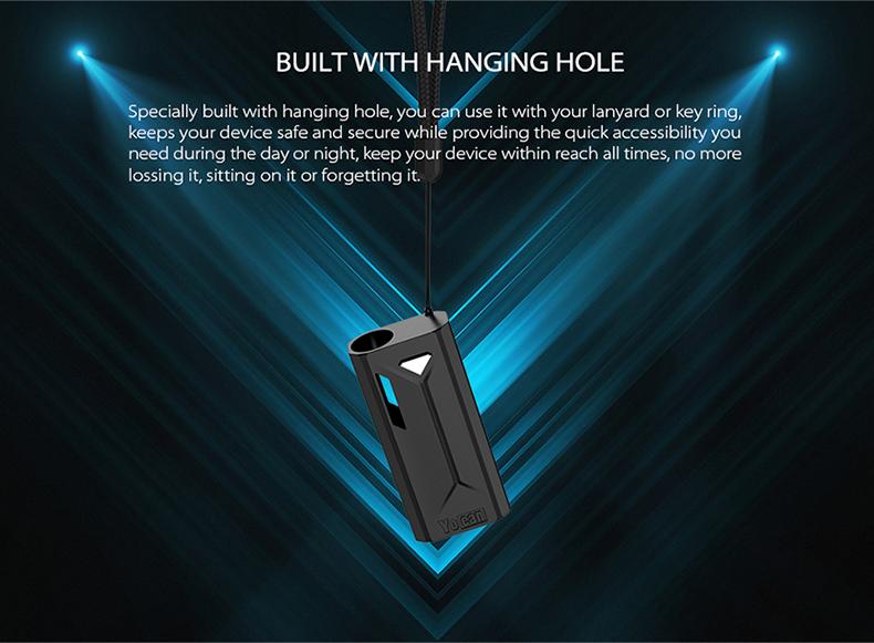 Yocan Groote Box Mod Hanging Hole