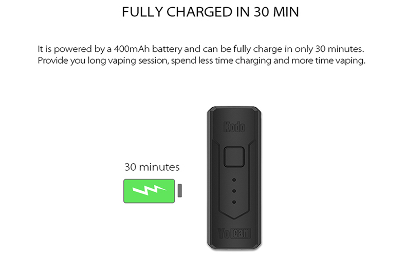 Kodo Box Mod Battery Quick Charging