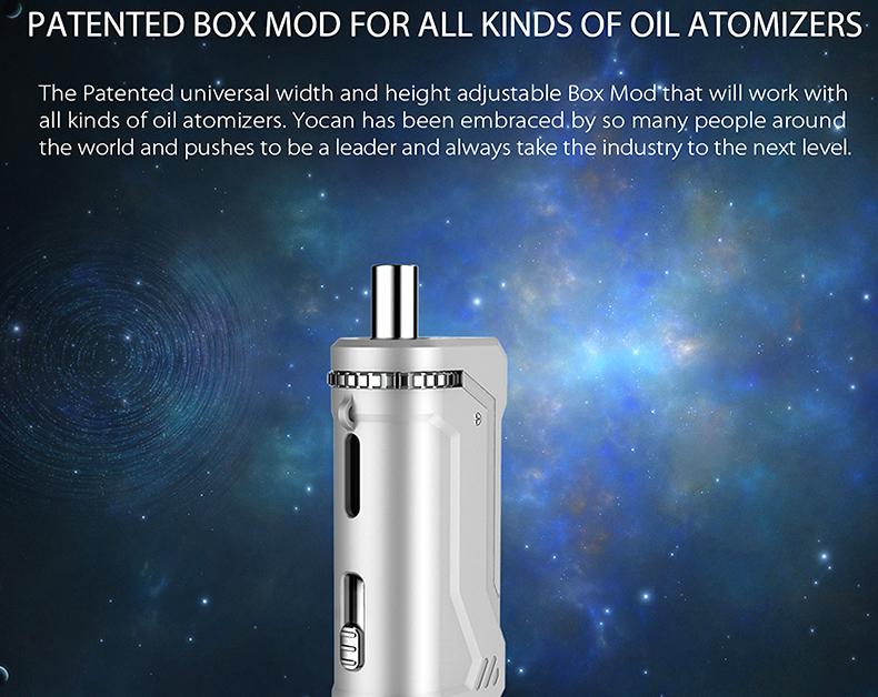 UNI Pro Box Mod Fit for Oil Atomizer
