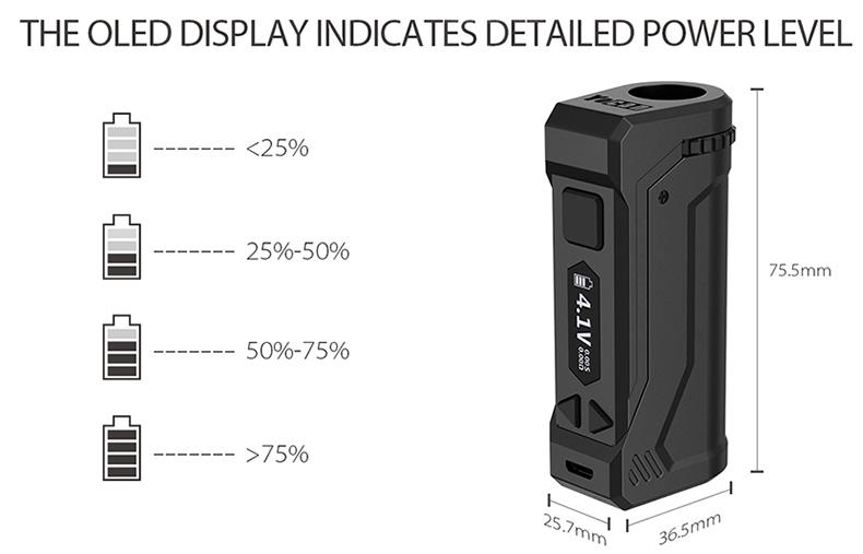 UNI Pro Mod Power Level
