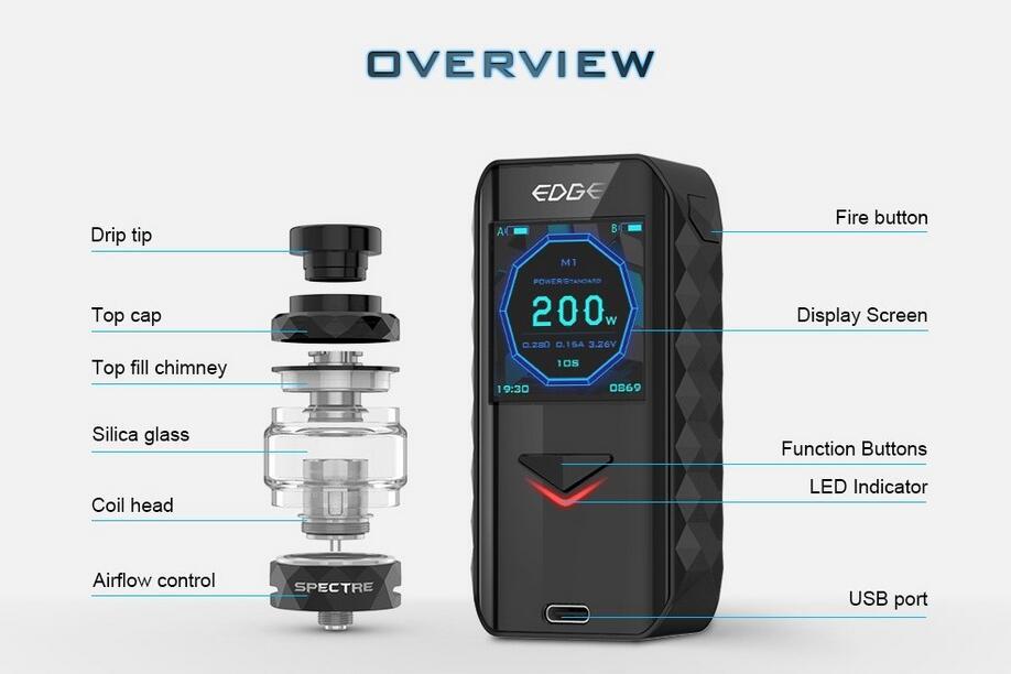 Digiflavor Edge Kit 5.5ml