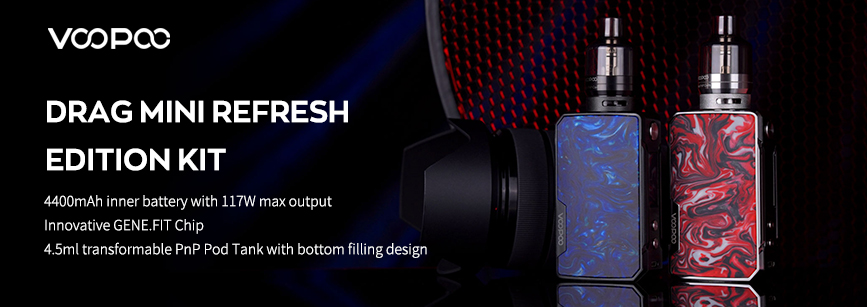 Voopoo Drag Mini Refresh Edition Kit Banner