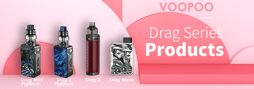 VOOPOO Drag Series Products Banner