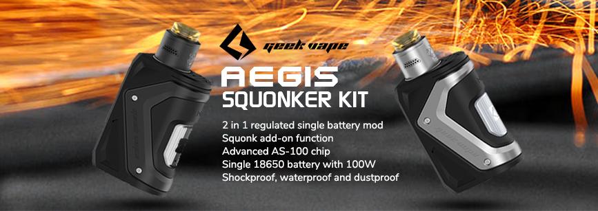 Geekvape Aegis Squonk Kit Banner