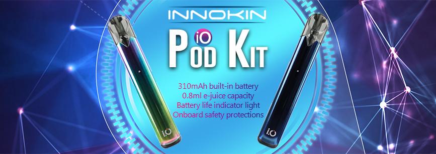 Innokin I.O Pod Kit Banner