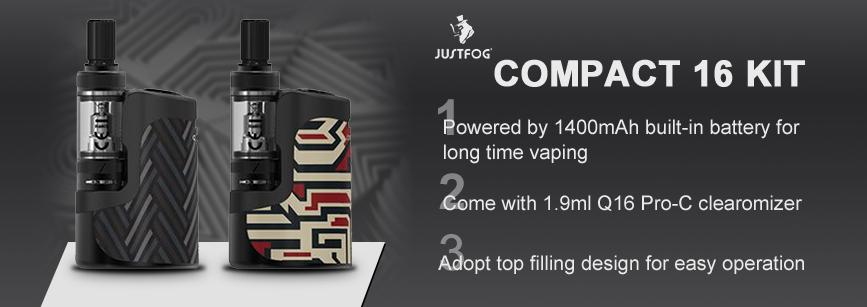 Justfog Compact 16 Kit Banner