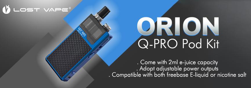 Lost Vape Orion Q-PRO Pod Kit Banner