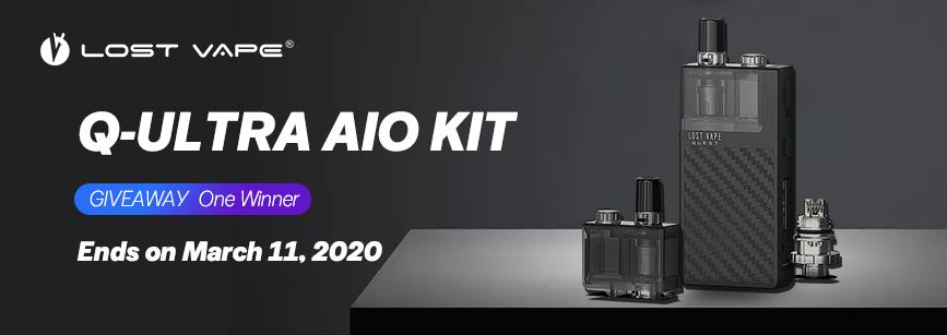 Lost Vape Q-ULTRA AIO Pod Kit Banner