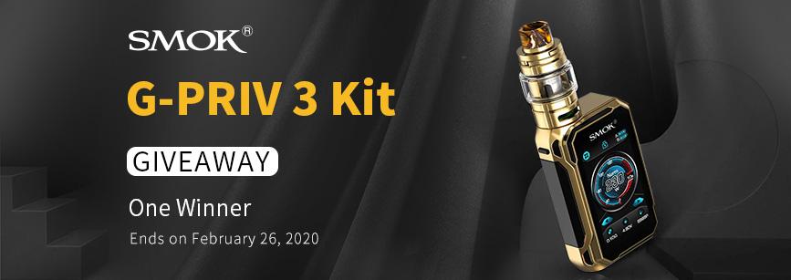 SMOK G-PRIV 3 Kit Banner