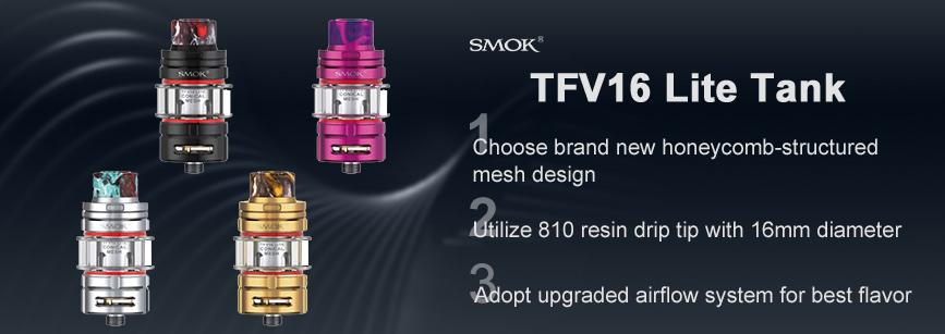 SMOK TFV16 Lite Tank Banner