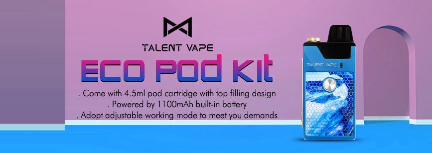 Talent Vape ECO Pod Kit Banner