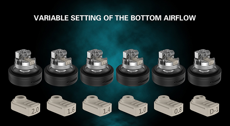 Berserker V2 MTL RTA Variable Setting