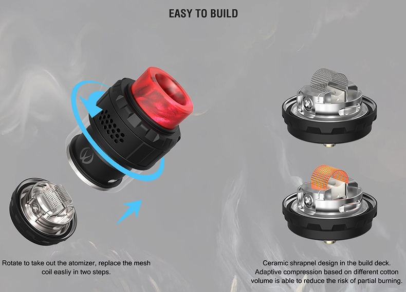 Vandy Vape Kylin M RTA Tank Atomizer Build