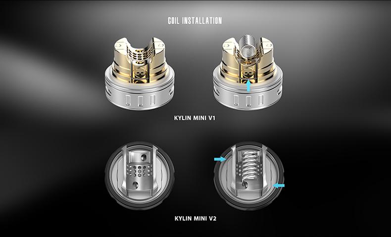 Vandy Vape Kylin Mini V2 Rebuildable Tank Atomizer Coil