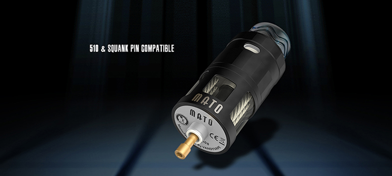 MATO RDTA Atomizer 510 Squank Pin